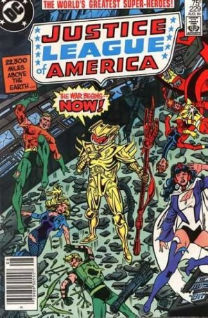 Justice League Of America # 229