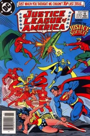 Justice League Of America # 232