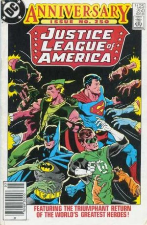 Justice League Of America # 250