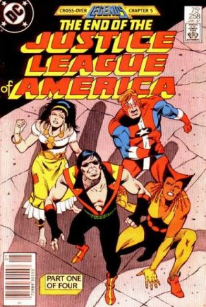 Justice League Of America # 258