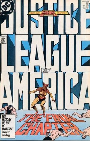 Justice League Of America # 261