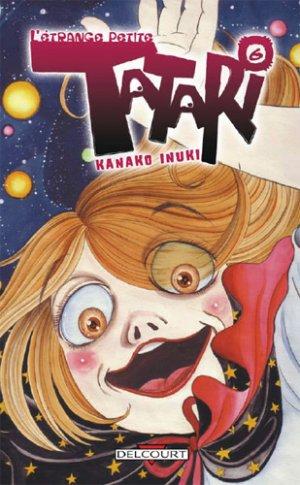 couverture, jaquette L'Etrange Petite Tatari 6  (Delcourt Manga)