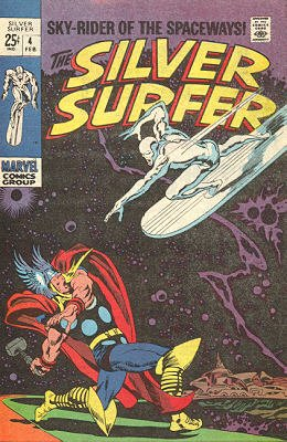 Silver Surfer # 4 Issues V1 (1968 - 1970)