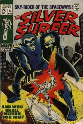Silver Surfer # 5 Issues V1 (1968 - 1970)