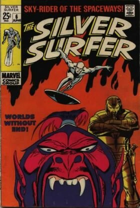 Silver Surfer # 6 Issues V1 (1968 - 1970)