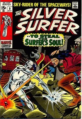 Silver Surfer 9 - --To Steal the Surfer's Soul!