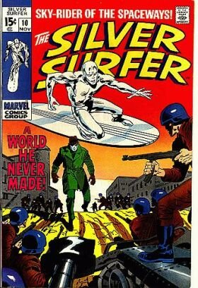 Silver Surfer # 10 Issues V1 (1968 - 1970)