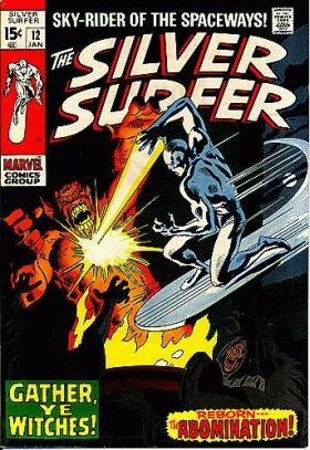Silver Surfer # 12 Issues V1 (1968 - 1970)