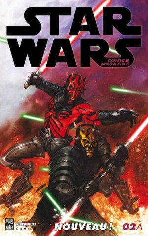 Star Wars comics magazine # 2