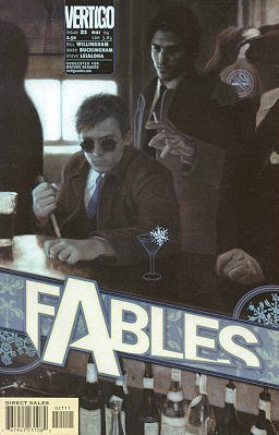 Fables 21 - Stop Me If You've Heard This One, But a Man Walks Into a Bar...