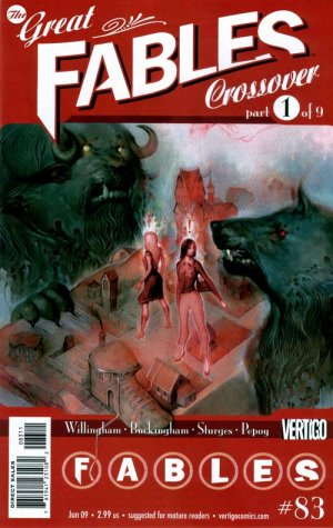 Fables # 83 Issues (2002 - 2015)