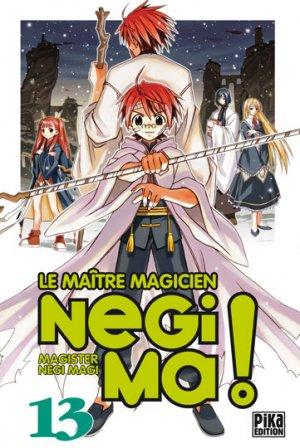 couverture, jaquette Negima ! 13  (Pika)