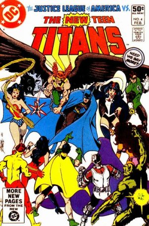 The New Teen Titans # 4 Issues V1 (1980 à 1984)