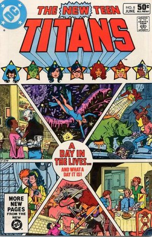 The New Teen Titans # 8 Issues V1 (1980 à 1984)