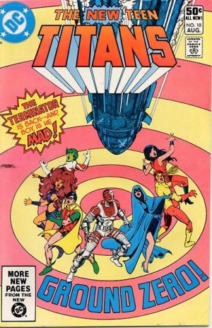 The New Teen Titans # 10 Issues V1 (1980 à 1984)