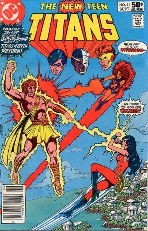 The New Teen Titans # 11 Issues V1 (1980 à 1984)