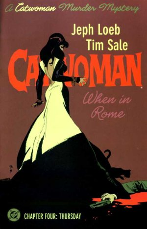 Catwoman - A Rome # 4 Issues