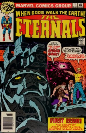 Les Eternels édition Issues V1 (1976 - 1978)