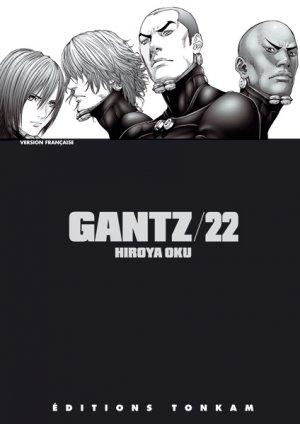 couverture, jaquette Gantz 22  (Tonkam)
