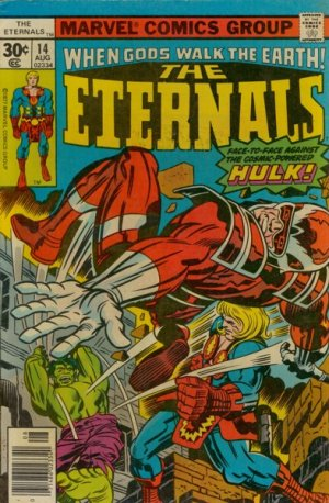 Les Eternels 14 - Ikaris and the Cosmic Powered Hulk