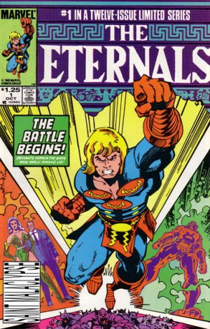 Les Eternels édition Issues V2 (1985 - 1986)