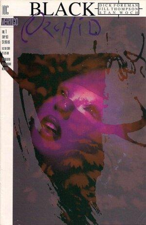 L'orchidée noire édition Issues V2 (1993 - 1995)