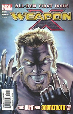 Weapon X édition Issues V2 (2002 - 2004)