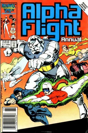Alpha Flight édition Issues V1 - Annuals (1986 - 1987)
