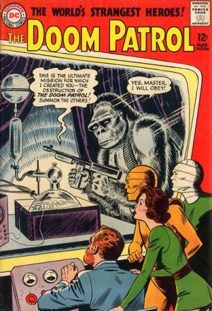The Doom Patrol édition Issues V1 (1964 - 1973)