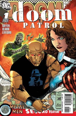 The Doom Patrol édition Issues V5 (2009 - 2011)