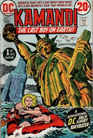 Kamandi édition Issues V1 (1975 - 1978)