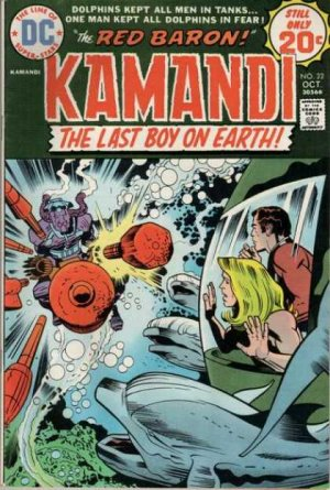 Kamandi # 22 Issues V1 (1975 - 1978)
