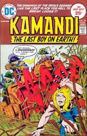 Kamandi # 26 Issues V1 (1975 - 1978)