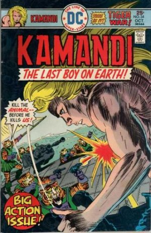 Kamandi # 34 Issues V1 (1975 - 1978)