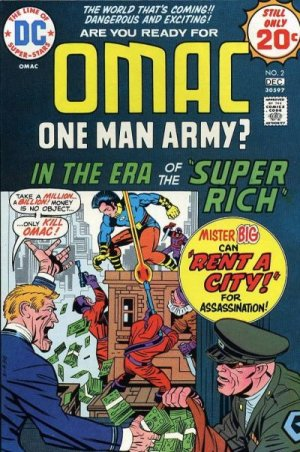 OMAC # 2 Issues V1 (1974 - 1975)