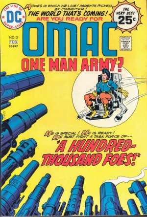OMAC # 3 Issues V1 (1974 - 1975)