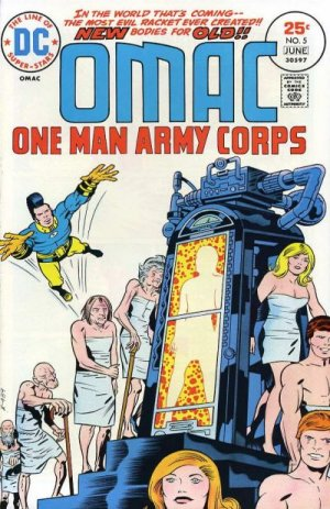 OMAC # 5 Issues V1 (1974 - 1975)