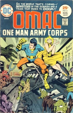 OMAC # 6 Issues V1 (1974 - 1975)