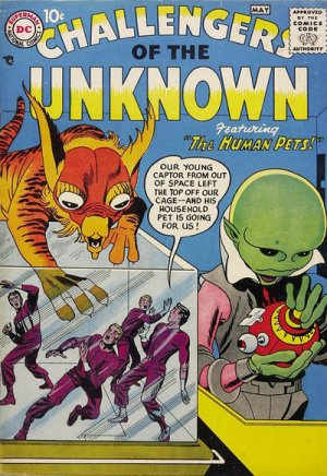 The Challengers of the Unknown édition Issues V1 (1958 - 1978)
