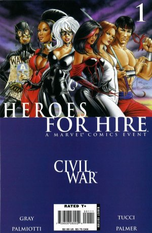 Heroes for Hire édition Issues V2 (2006 - 2007)
