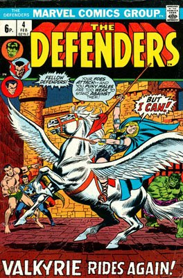 Defenders # 4 Issues (The Defenders) (1972 - 1986)
