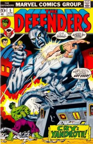 Defenders # 5 Issues (The Defenders) (1972 - 1986)