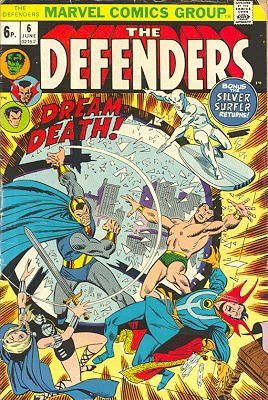 Defenders # 6 Issues (The Defenders) (1972 - 1986)