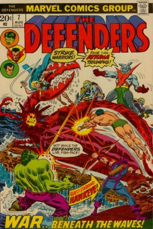 Defenders # 7 Issues (The Defenders) (1972 - 1986)