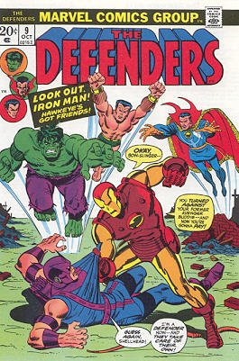 Defenders # 9 Issues (The Defenders) (1972 - 1986)
