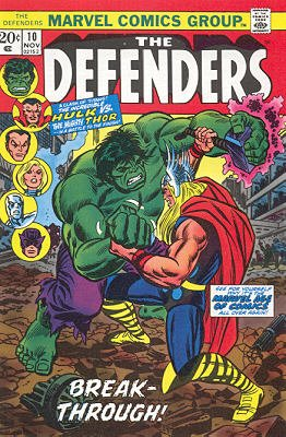Defenders # 10 Issues (The Defenders) (1972 - 1986)