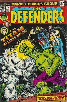 Defenders # 12 Issues (The Defenders) (1972 - 1986)