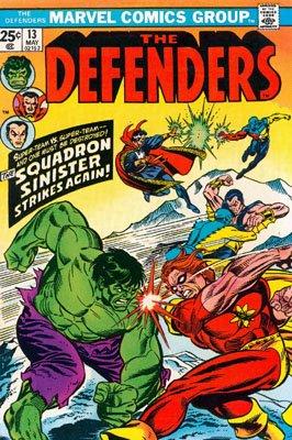 Defenders # 13 Issues (The Defenders) (1972 - 1986)