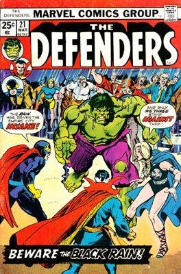 Defenders # 21 Issues (The Defenders) (1972 - 1986)