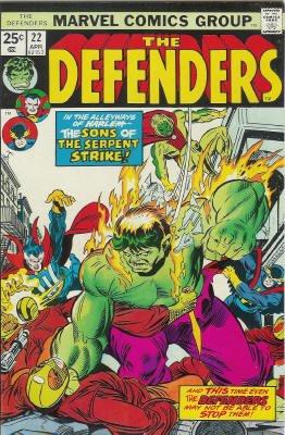 Defenders # 22 Issues (The Defenders) (1972 - 1986)